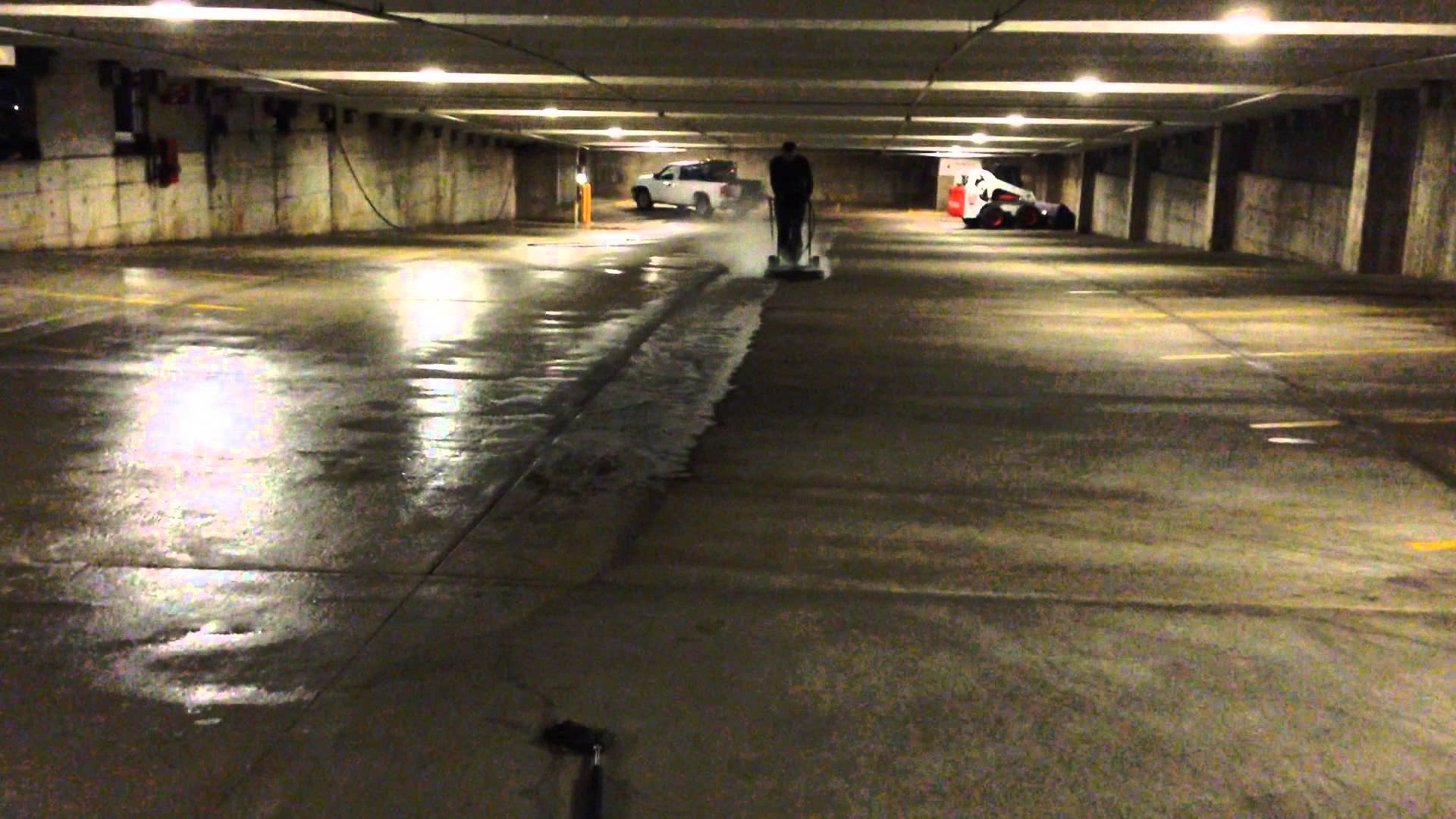 Parking Garage Pressure Washing Definitive Pressure Washing
